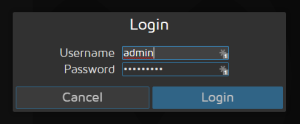 MotionPie Admin Password